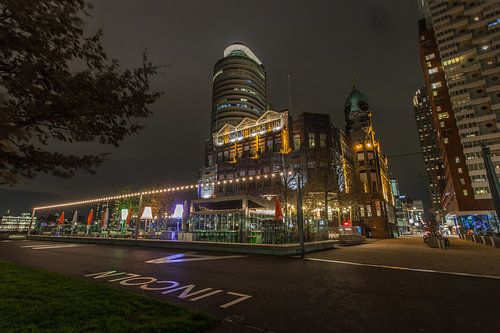 Hotel New York by night
