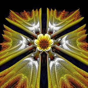 De gouden Lotusbloem van Nina IoKa