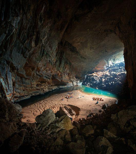 Hang En Cave Vietnam van Niels Tichelaar