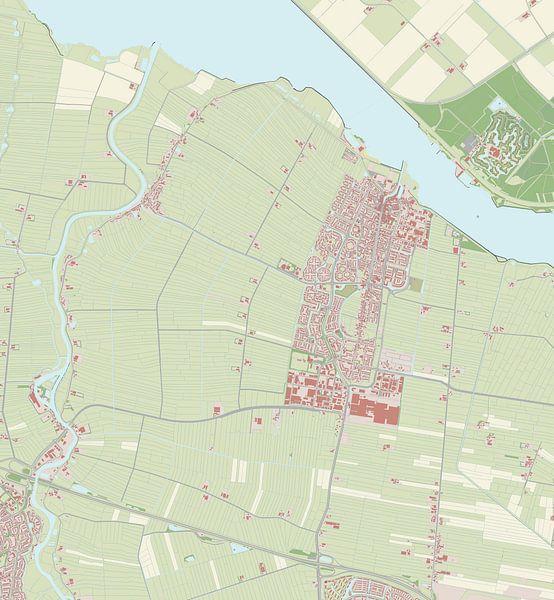 Kaart vanBunschoten