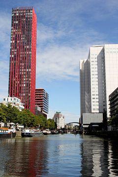 Rotterdams doorkijkje van de Scheepmakershaven van Pim Klabbers