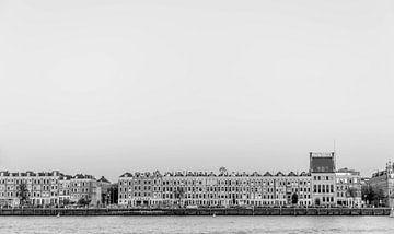 Noordereiland Rotterdam van Peter Hooijmeijer