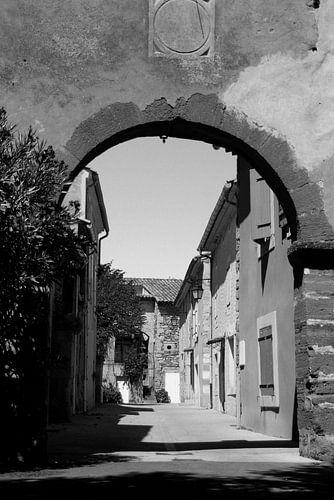 Typisch frans dorpsgezicht