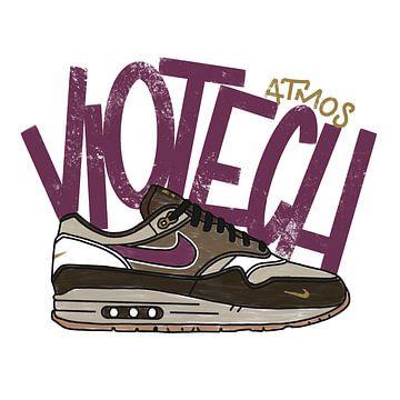 """Nike Air Max 1 """"Atmos Viotech"""" von Pim Haring"""