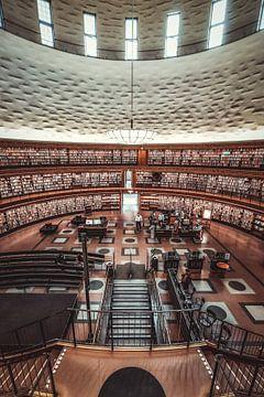 Stadtbibliothek Stockholm von Munich Art Prints