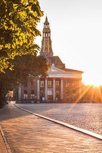 Vismarkt during Sunset (poster)
