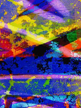 Modern, Abstract Digitaal Kunstwerk - The Place That Fills Your Tears (Part 3) van Art By Dominic