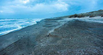 Strand, wind  en Stuifzand van Alex Hiemstra