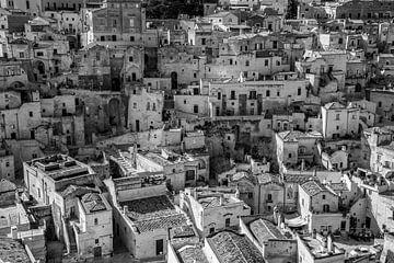 Italie, Sassi di Matera sur Yvonne van der Meij