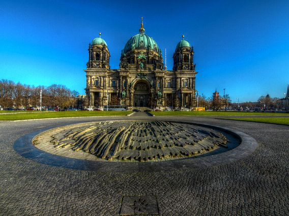 Berliner Dom van Marc J. Jordan