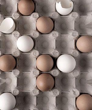 Eier in der Schale von simone swart