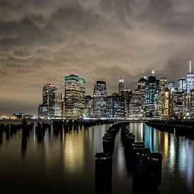 Skyline, Manhattan, New York City van Eddy Westdijk