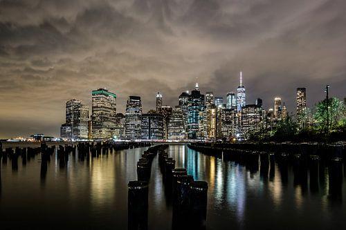 Skyline, Manhattan, New York City van