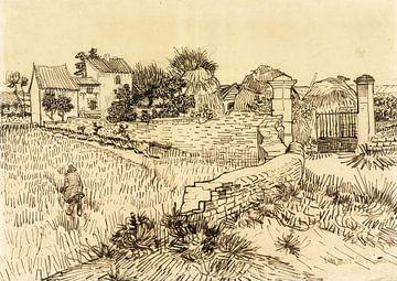 Vincent van de Gogh. Bauernhof in der Provence