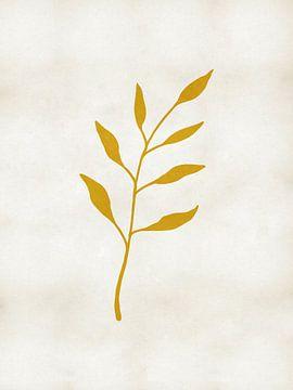 Blattgold-Rustikdruck von MDRN HOME
