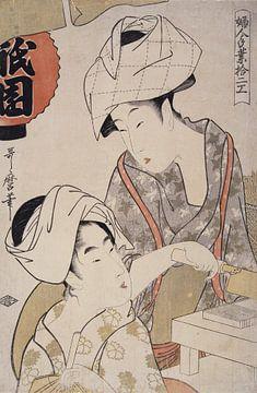 Zwei Frauen (Gion-da fu), Kitagawa Utamaro
