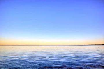 Sonnenaufgang im Wasser