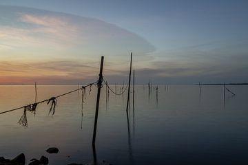 coucher du soleil sur Ron Kleinjans