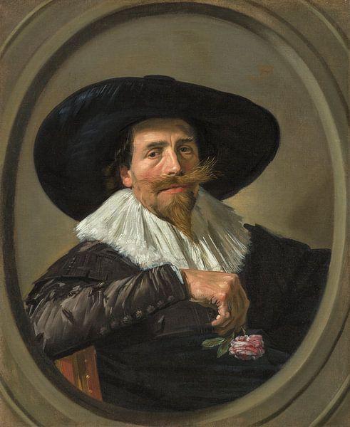 Porträt von Pieter Dircksz. Tjarck, Frans Hals von Meesterlijcke Meesters