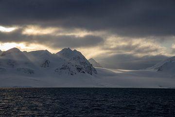 zonsondergang op Spitsbergen von Marieke Funke