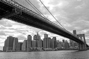 New York Brooklyn Bridge van