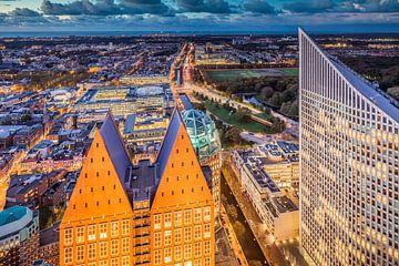 Skyline The Hague City sur Original Mostert Photography