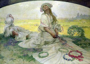 Das Lied von Böhmen, Alphonse Mucha - 1918
