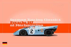 Porsche 917 auf dem Nürburgring, Deutschland