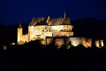 Vianden kasteel  van Emanuel Luyten
