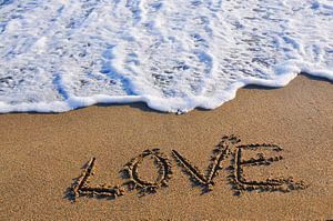 Love in to the sand written