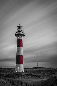 Leuchtturm von Nieuwpoort von Jim De Sitter