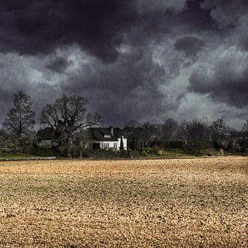 Stormachtige dag van Monica Zimmermans