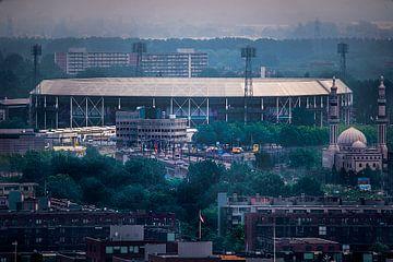 Feyenoord-Stadion De Kuip von Fred Leeflang