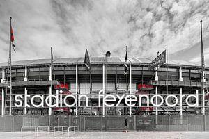 Vooraanzicht Feyenoord Stadion De Kuip Rotterdam-Zuid 2020