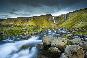Waterval IJsland Kirkjufell van