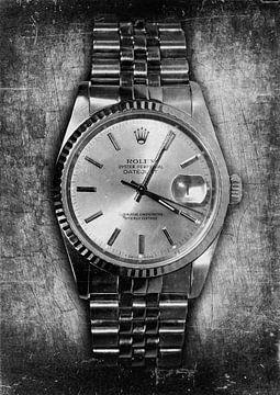 Rolex metal look van Bert Hooijer