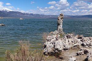 Kalktuff-Formationen am Mono Lake von Christiane Schulze