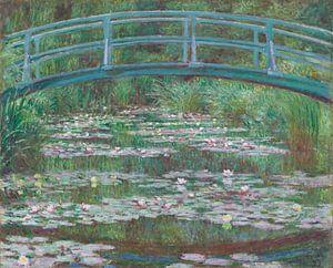 De Japanse brug en de waterlelies, Claude Monet