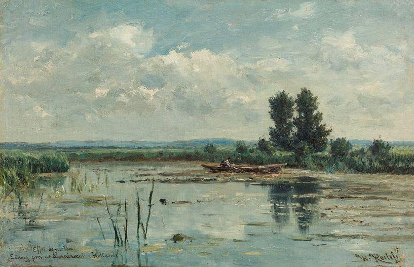 Plas bij Loosdrecht, Willem Roelofs van Schilders Gilde