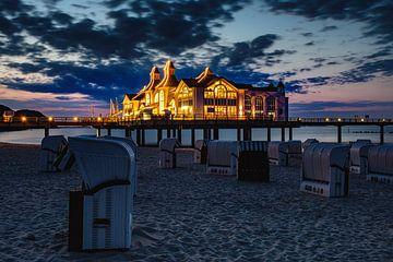 De Pier van Sellin, Rugen na zonsondergang van