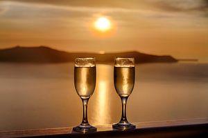 Santorini Sunset Celebration