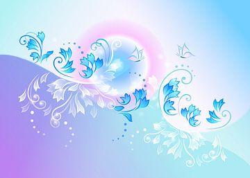 Schmetterlingsträume van Nina Baydur