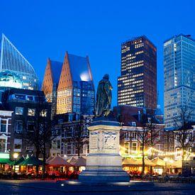 Skyline  Den Haag, gezien vanaf het Plein van Gerrit de Heus