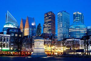 Skyline  Den Haag, gezien vanaf het Plein van