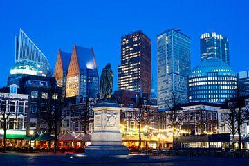 Skyline Den Haag, vom Platz aus gesehen von Gerrit de Heus