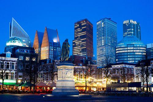 Skyline  Den Haag, gezien vanaf het Plein