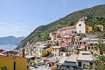 Kleurrijk Vernazza, Cinque Terre von