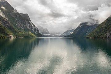 Fjord in Noorwegen von Sebastiaan de Groot