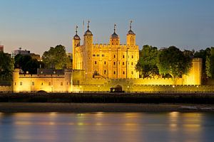 Nachtfoto Tower of London