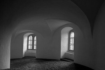 Rundetaarn, Copenhague sur mono chromie